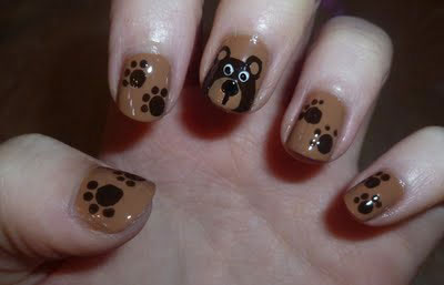 Easy-Farm-Animals-Nail-Art-Designs-Ideas-2013-2014-8