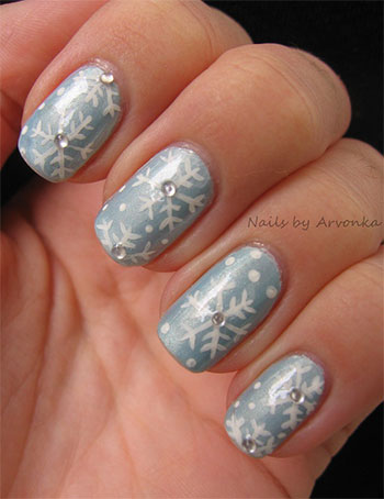Easy simple snowflake nail art designs ideas 2013 2014 easy simple snowflake nail art designs ideas 2013 prinsesfo Image collections