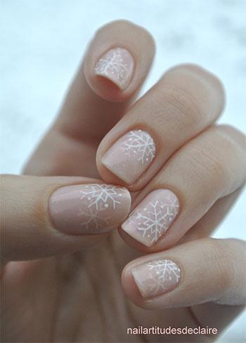 Easy-Simple-Snowflake-Nail-Art-Designs-Ideas-2013-2014-9