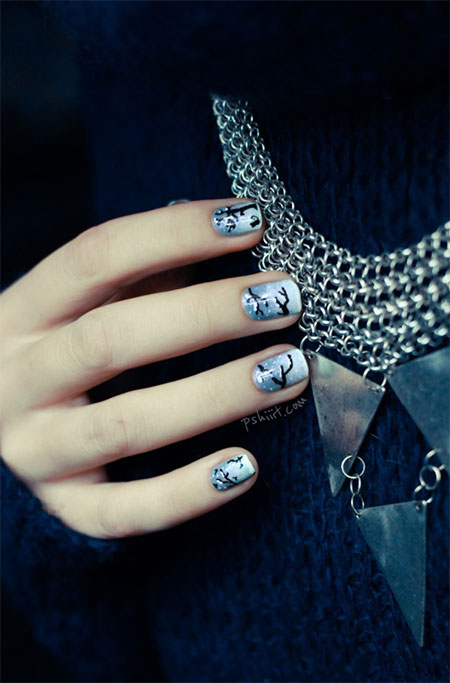 Easy-Simple-Winter-Nail-Art-2013-2014-For-Beginners-Learners-10