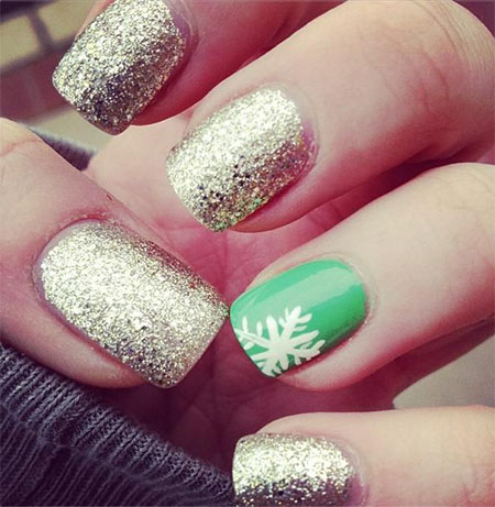 Easy-Simple-Winter-Nail-Art-2013-2014-For-Beginners-Learners-6