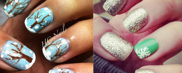 Easy-Simple-Winter-Nail-Art-2013-2014-For-Beginners-Learners