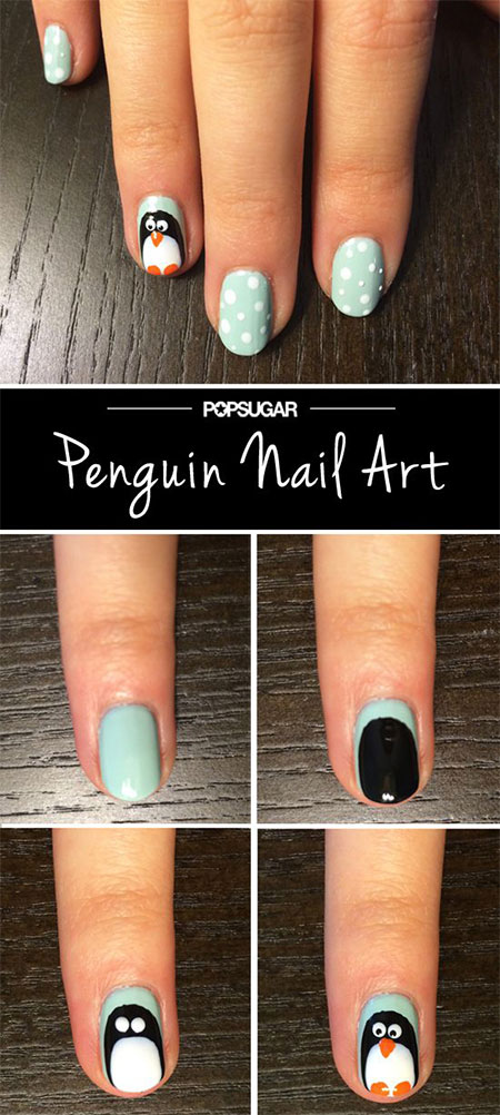 Easy-Winter-Nail-Art-Tutorials-2013-2014-For-Beginners-Learners-2