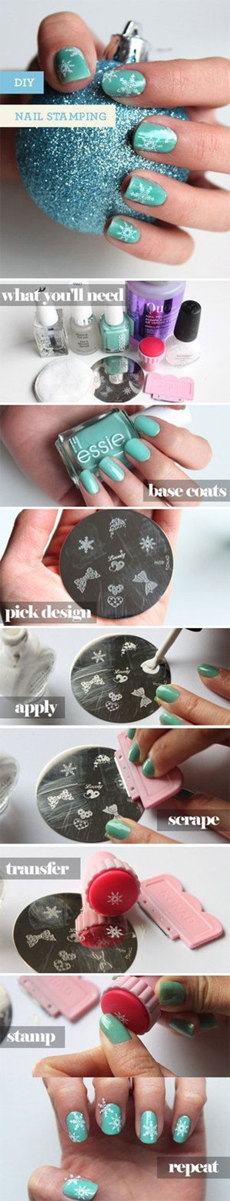 Easy-Winter-Nail-Art-Tutorials-2013-2014-For-Beginners-Learners-5