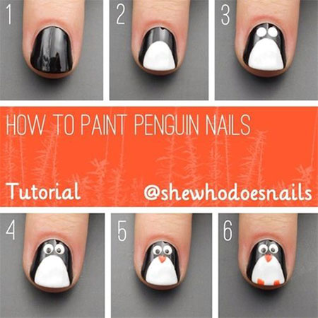 Easy-Winter-Nail-Art-Tutorials-2013-2014-For-Beginners-Learners-9