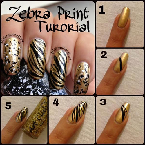 Simple-Easy-Zoo-Farm-Animals-Nail-Art-Tutorial-2013-2014-For-Beginners-2