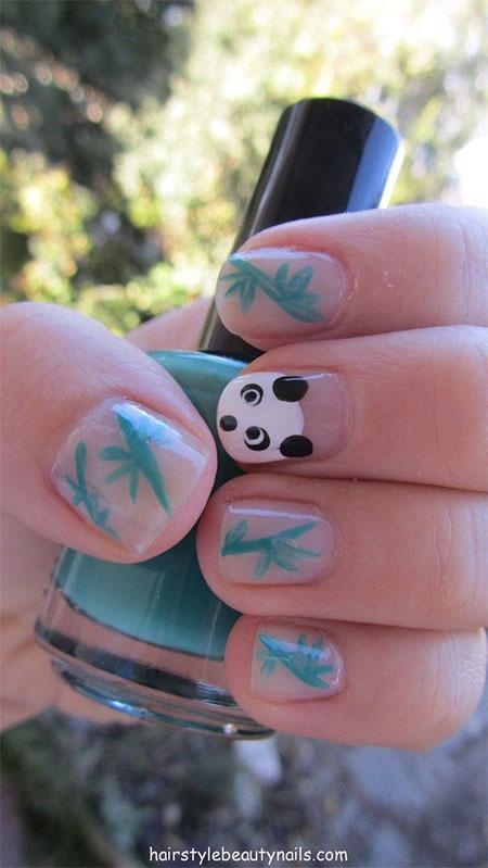 Simple-Panda-Nail-Art-Designs-Ideas-2013-2014-13