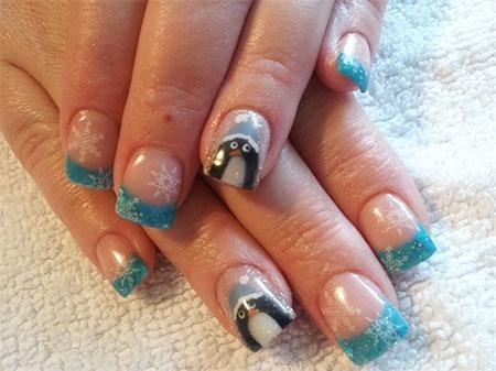Simple-Penguin-Nail-Art-Designs-Ideas-2013-2014-1