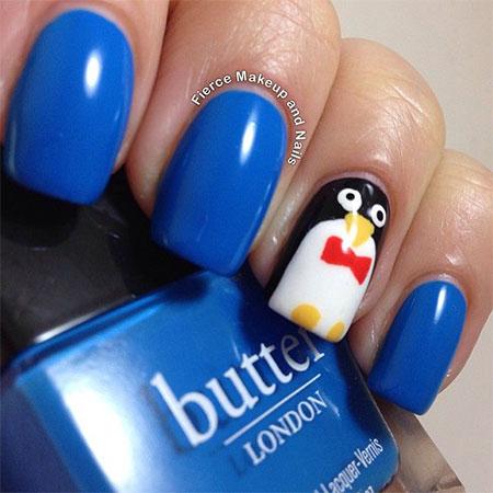 Simple-Penguin-Nail-Art-Designs-Ideas-2013-2014-11