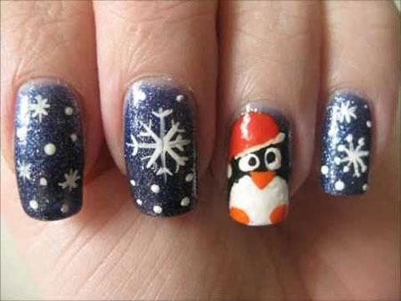 Simple-Penguin-Nail-Art-Designs-Ideas-2013-2014-12