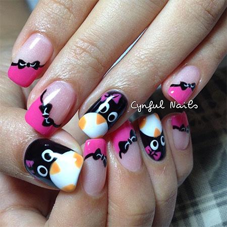 Simple-Penguin-Nail-Art-Designs-Ideas-2013-2014-3