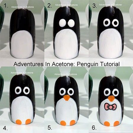 Step-By-Step-Winter-Nail-Art-Tutorials-2013-2014-For-Beginners-Learners-5