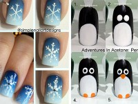Step-By-Step-Winter-Nail-Art-Tutorials-2013-2014-For-Beginners-Learners