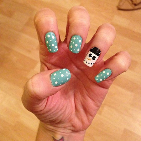 Very-Easy-Winter-Nail-Art-Designs-2013-2014-For-Beginners-Learners-1