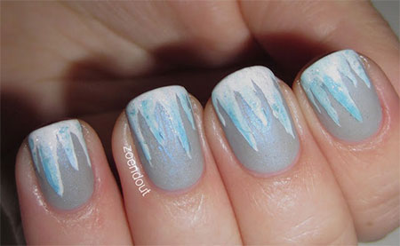Very-Easy-Winter-Nail-Art-Designs-2013-2014-For-Beginners-Learners-11