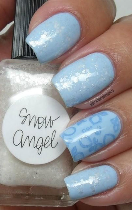 Very-Easy-Winter-Nail-Art-Designs-2013-2014-For-Beginners-Learners-12