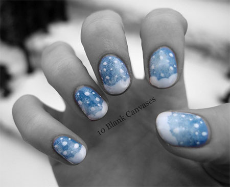 Very-Easy-Winter-Nail-Art-Designs-2013-2014-For-Beginners-Learners-2