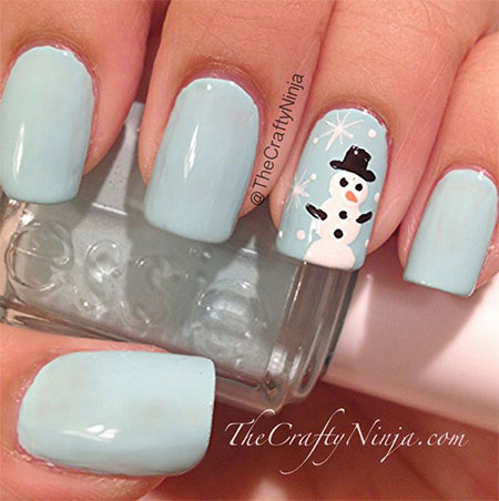 Very-Easy-Winter-Nail-Art-Designs-2013-2014-For-Beginners-Learners-6