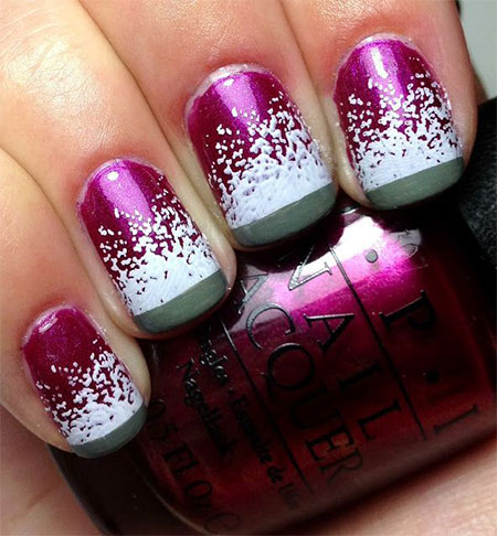 Very-Easy-Winter-Nail-Art-Designs-2013-2014-For-Beginners-Learners-9