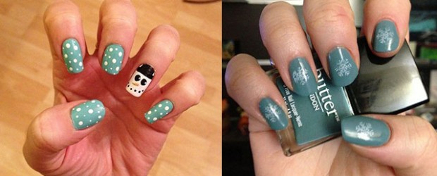 Very-Easy-Winter-Nail-Art-Designs-2013-2014-For-Beginners-Learners