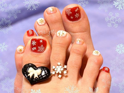 Winter-Toe-Nail-Art-Designs-Ideas-For-Girls-2013-2014-1