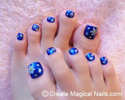 Winter-Toe-Nail-Art-Designs-Ideas-For-Girls-2013-2014-2
