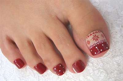 Winter Toe Nail Art Designs & Ideas For Girls 2013/ 2014 | Fabulous