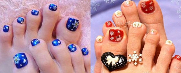 Winter Toe Nails | Fabulous Nail Art Designs
