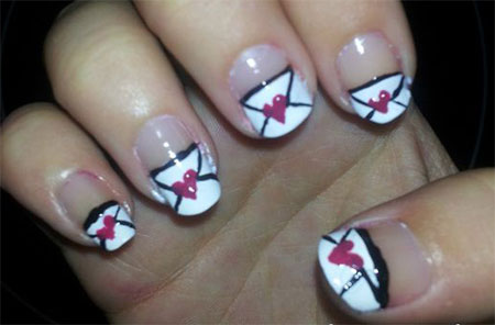 Amazing-Love-Letter-Nail-Art-Designs-Ideas-2014-10