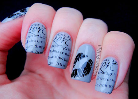 Amazing-Love-Letter-Nail-Art-Designs-Ideas-2014-11