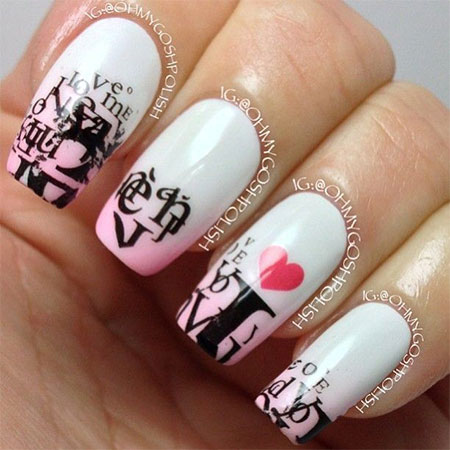 Amazing-Love-Letter-Nail-Art-Designs-Ideas-2014-2