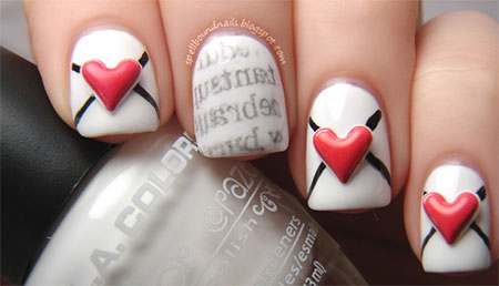 Amazing-Love-Letter-Nail-Art-Designs-Ideas-2014-3