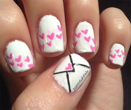 Amazing-Love-Letter-Nail-Art-Designs-Ideas-2014-5
