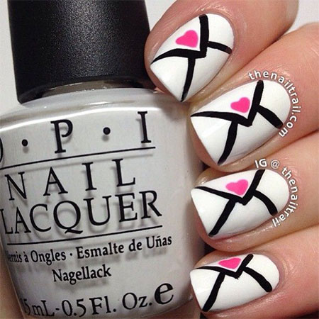 Amazing-Love-Letter-Nail-Art-Designs-Ideas-2014-7