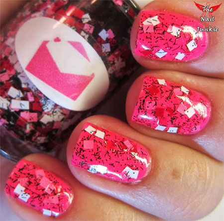 Amazing-Love-Letter-Nail-Art-Designs-Ideas-2014-9