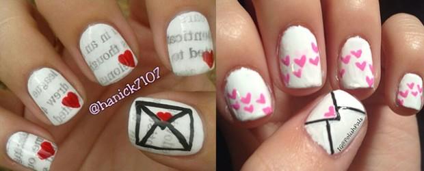 Amazing-Love-Letter-Nail-Art-Designs-Ideas-2014