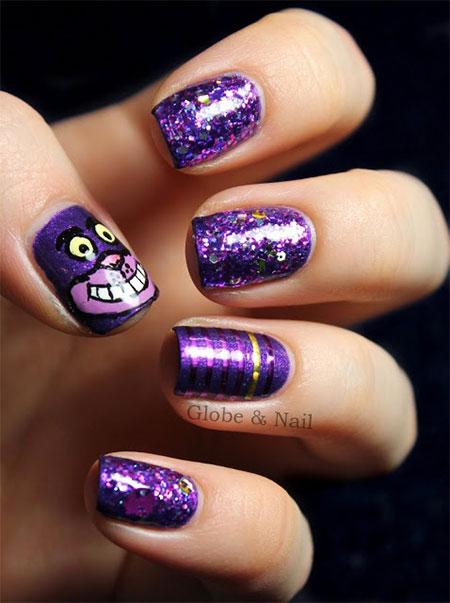 Cute-Cat-Face-Nail-Art-Designs-Ideas-2013-2014-9