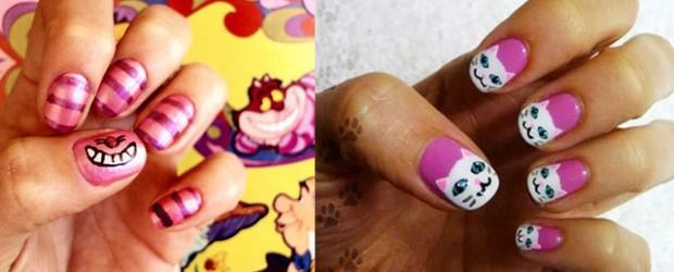 Cute-Cat-Face-Nail-Art-Designs-Ideas-2013-2014