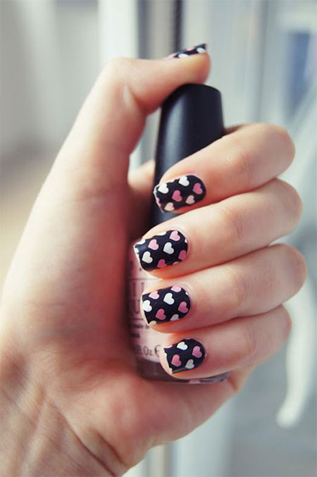 Cute-Little-Heart-Nail-Art-Designs-Ideas-2014-For-Valentines-Day-1