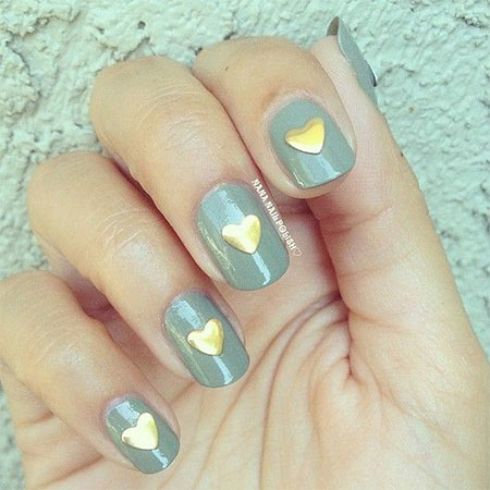 Cute-Little-Heart-Nail-Art-Designs-Ideas-2014-For-Valentines-Day-12