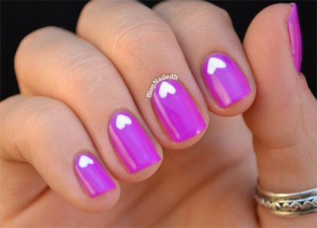 Cute-Little-Heart-Nail-Art-Designs-Ideas-2014-For-Valentines-Day-13