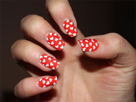 Cute-Little-Heart-Nail-Art-Designs-Ideas-2014-For-Valentines-Day-15