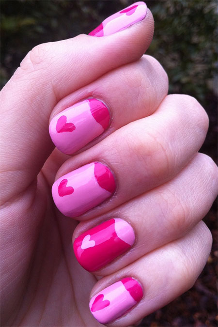 Cute-Little-Heart-Nail-Art-Designs-Ideas-2014-For-Valentines-Day-3