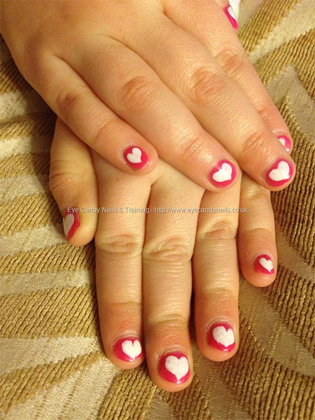 Cute-Little-Heart-Nail-Art-Designs-Ideas-2014-For-Valentines-Day-5