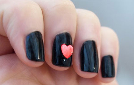 Cute-Little-Heart-Nail-Art-Designs-Ideas-2014-For-Valentines-Day-8
