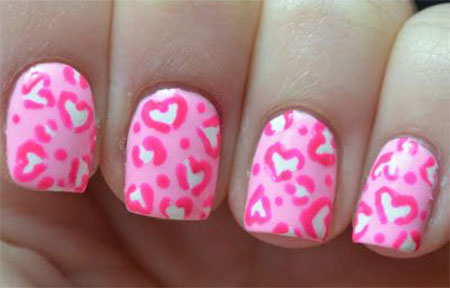 Cute-Little-Heart-Nail-Art-Designs-Ideas-2014-For-Valentines-Day-9