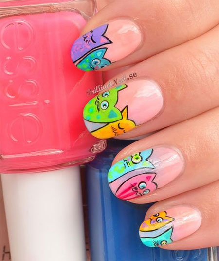 The Astounding Toe nail art designs 2015 Picture