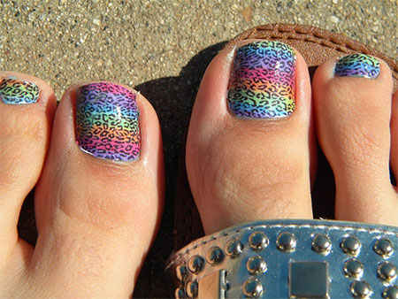 Easy-Zoo-Farm-Animal-Toe-Nail-Art-Designs-Ideas-2013-2014-11