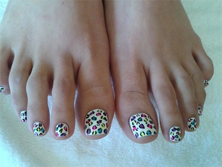 Easy-Zoo-Farm-Animal-Toe-Nail-Art-Designs-Ideas-2013-2014-3