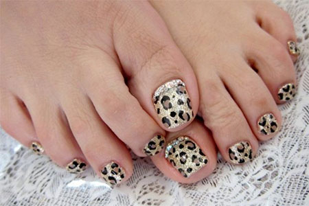 Easy-Zoo-Farm-Animal-Toe-Nail-Art-Designs-Ideas-2013-2014-5